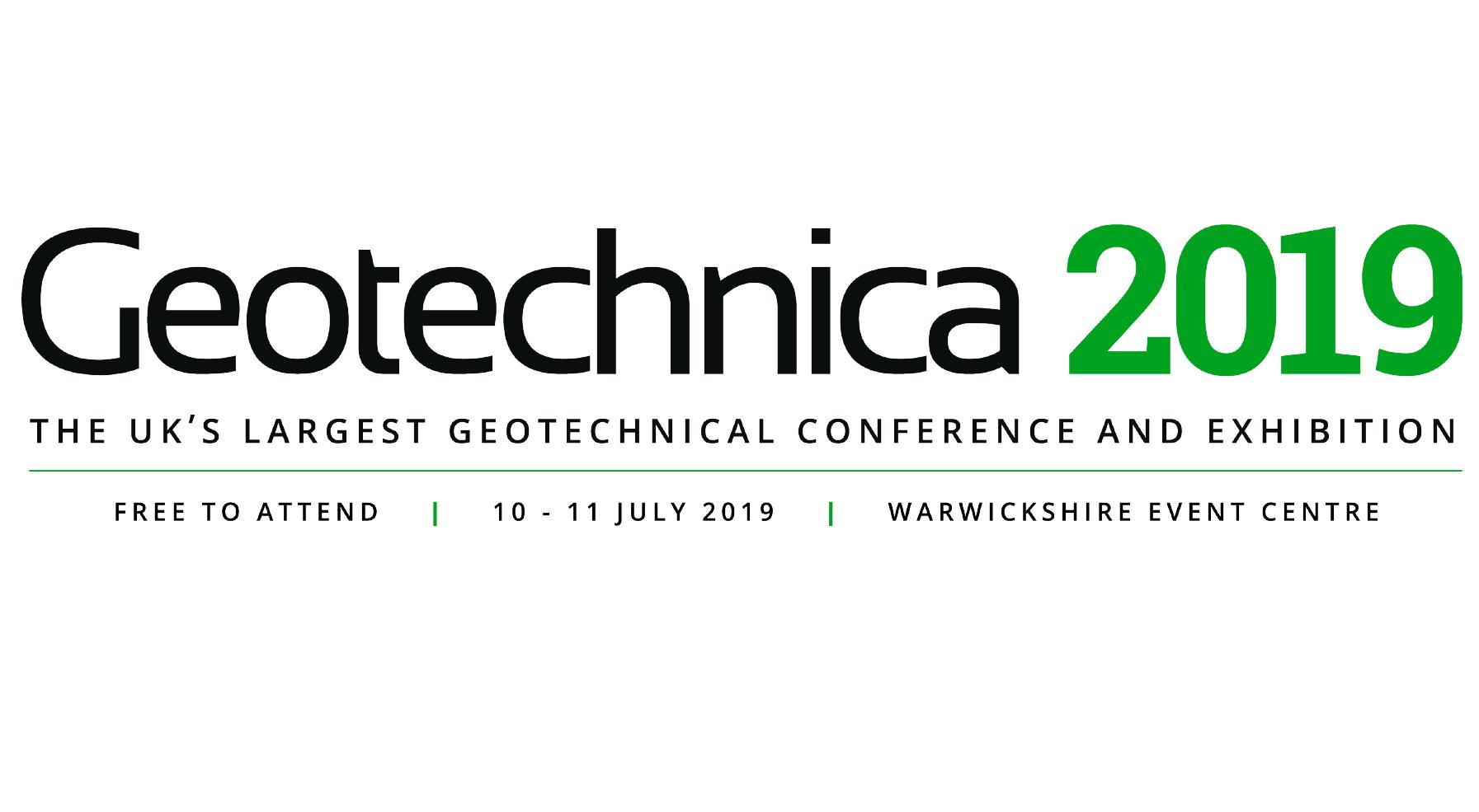 fielddata.io GmbH participates in Geotechnica 2019 in Warwickshire