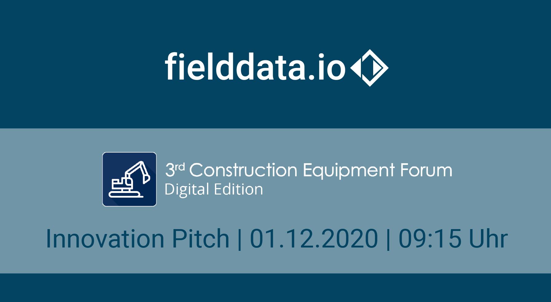 fielddata.io at the Construction Equipment Forum2020