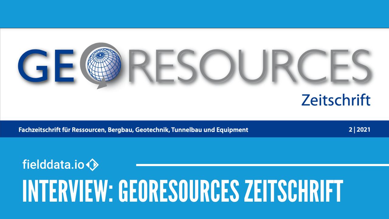 fielddata.io GmbH CEO Jochen Maurer im Interview bei GeoResources