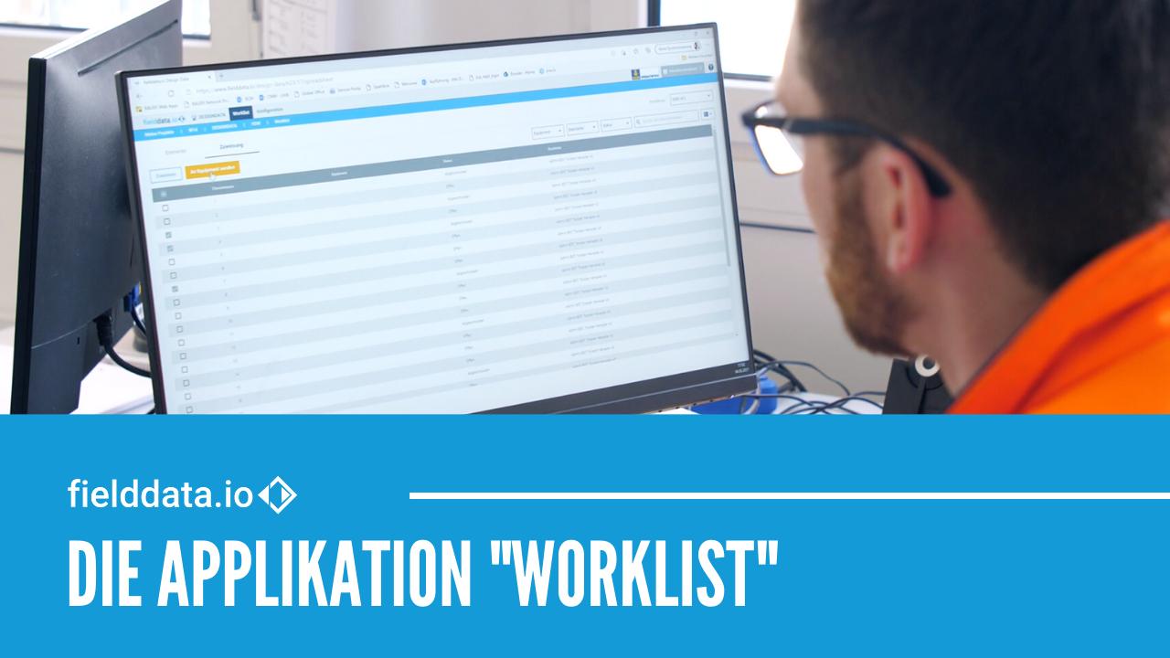 Die fielddata.io Applikation WORKLIST – Spezialtiefbau-Planungsdaten direkt an Maschinen senden